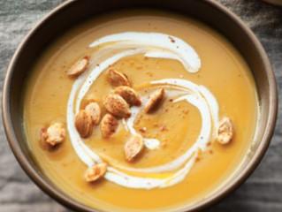 Chipotle Spiced Pumpkin Soup
