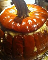 Whole Stuffed Roasted Pumpkin