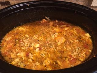 Chicken Poblano Tortilla Soup