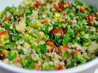Cilantro Chile Couscous
