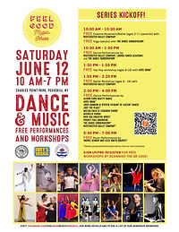 Feel Good Music Series - Dance & Music - Free Performances & Workshops
