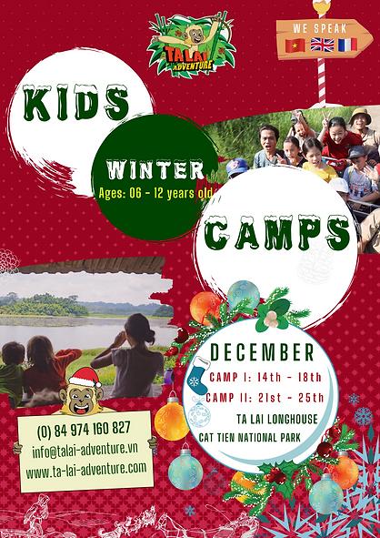 ta lai winter kids camps