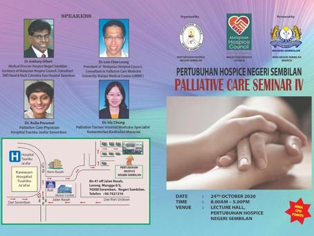 PALLIATIVE CARE SEMINAR IV