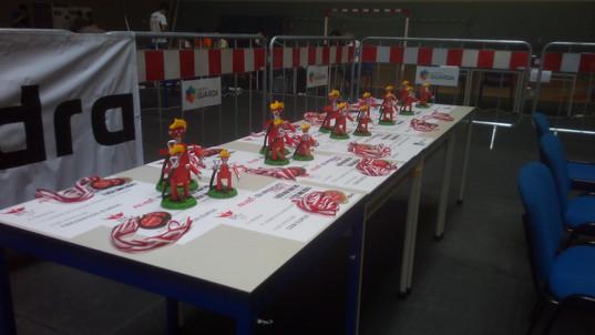 Participação do Clube no Concurso Robô Bombeiro na Guarda