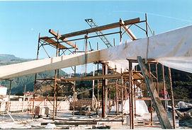 Costruzione di tetto ventilato con travature lamellari alessandro arnaldo pardini armonia dei luoghi