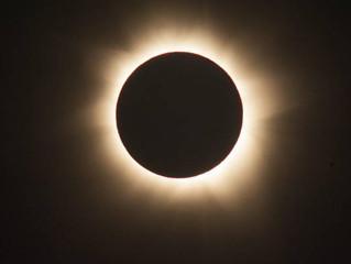 La super Luna ed il Sole nero