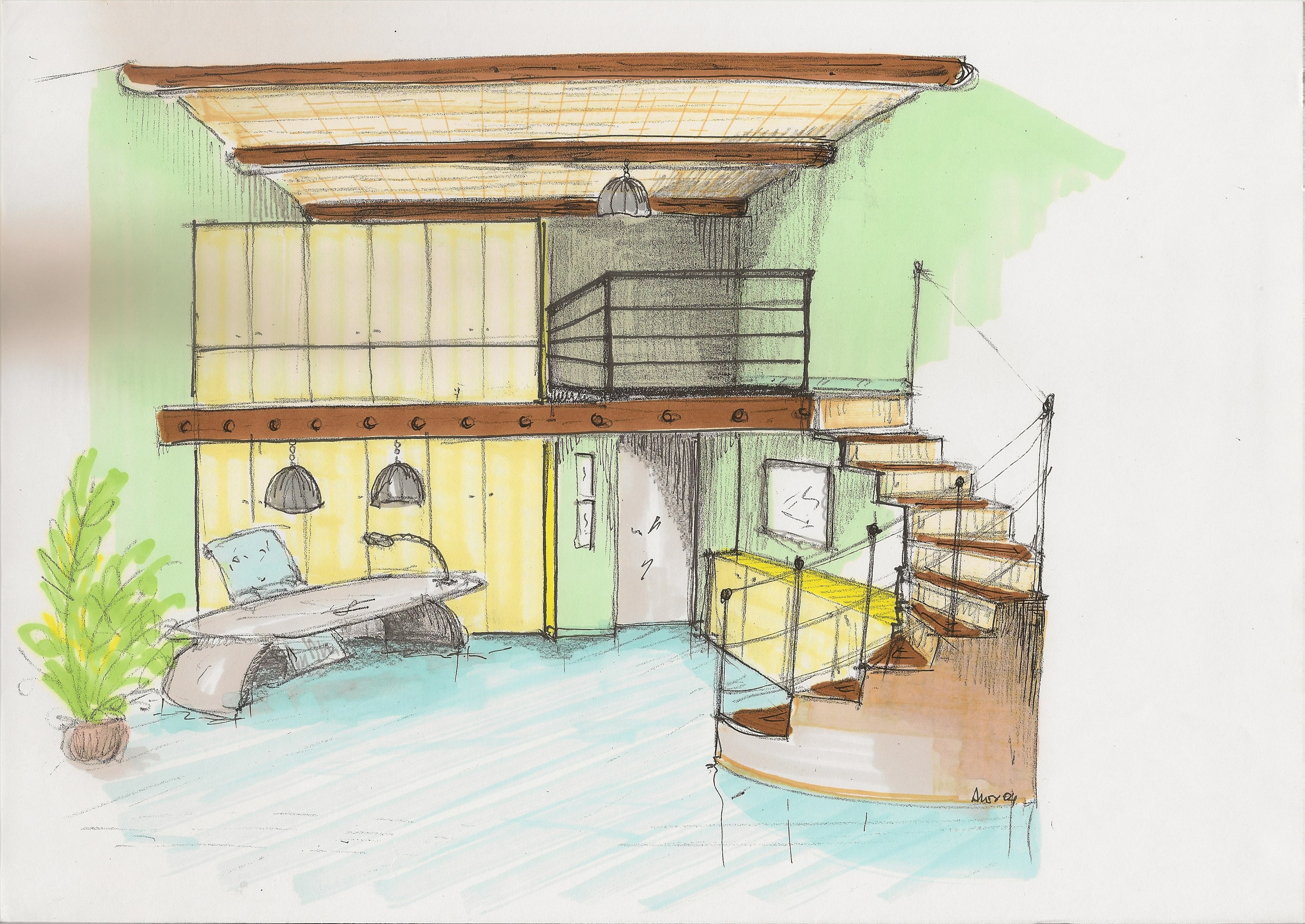Sketch mini office