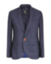 Blazer Bleu Foncé 100% laine Bougainville Paris