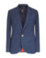 Blazer Bleu 100% laine Bougainville Paris