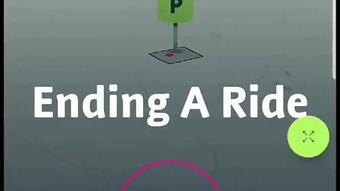 Ending A Ride