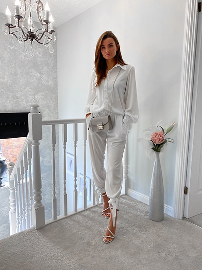 Two Piece Set Womens Top And Loose trousers / Tracksuit