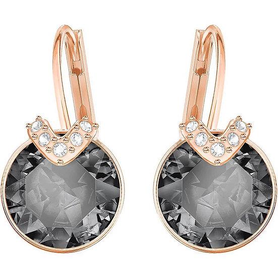 Gorgeous crystal drop v earrings
