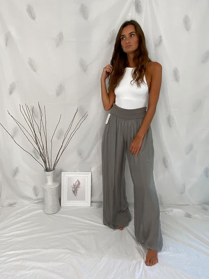 Floaty double layer Palazzo trousers