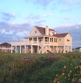 Beautiful custom beach house