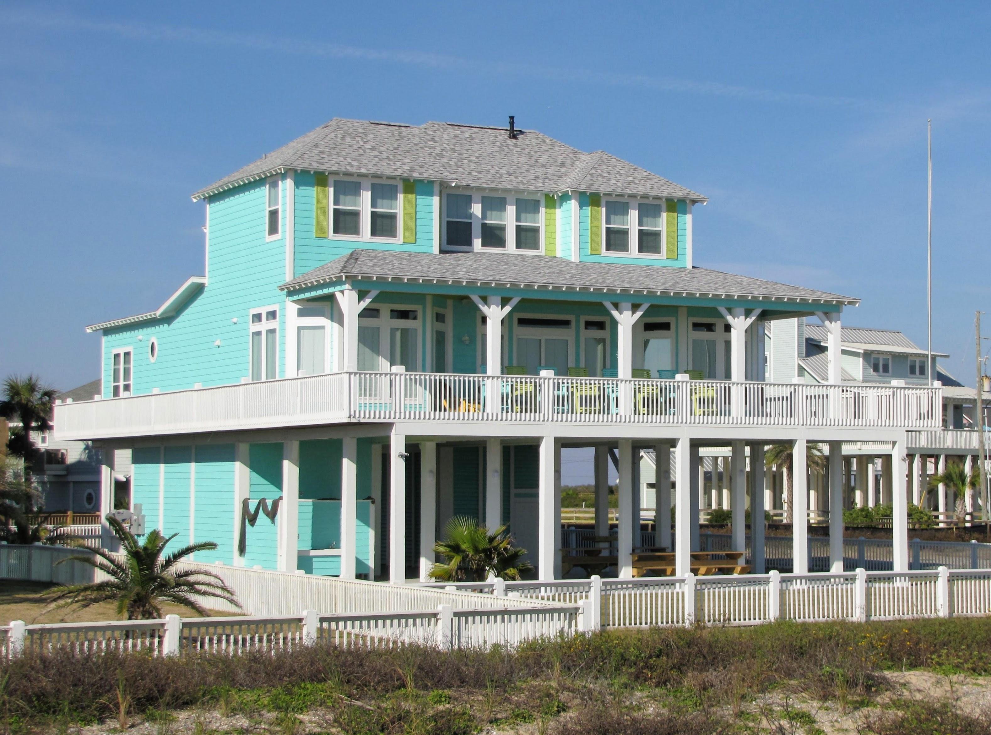 Aquamarine House