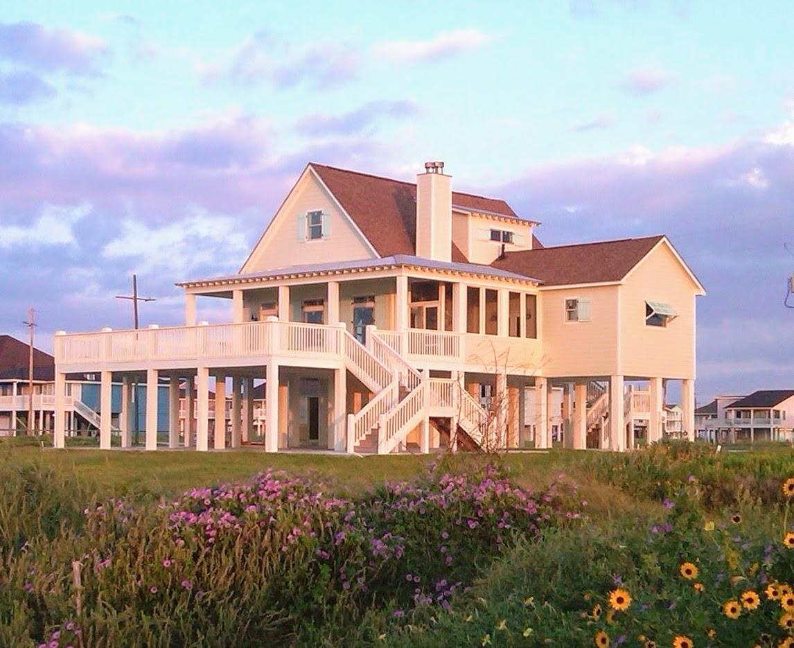 White Sunset House