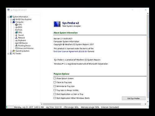 Sys Probe Pro