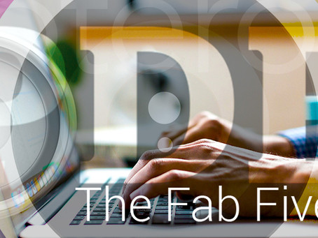 The fab five: digital tools we wouldn't be without