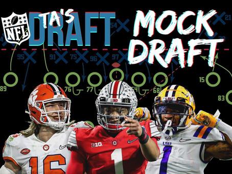 TA's 2021 NFL Mock Draft 2.0