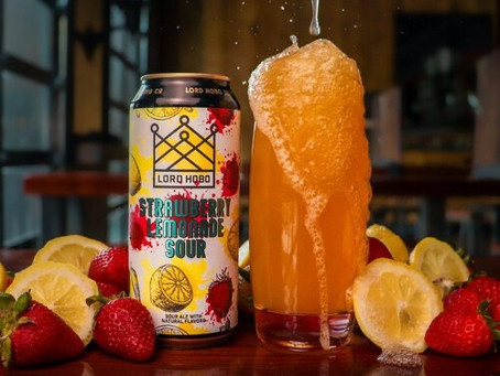 Nothing Butt Reviews: Lord Hobo Strawberry Lemonade Sour Ale