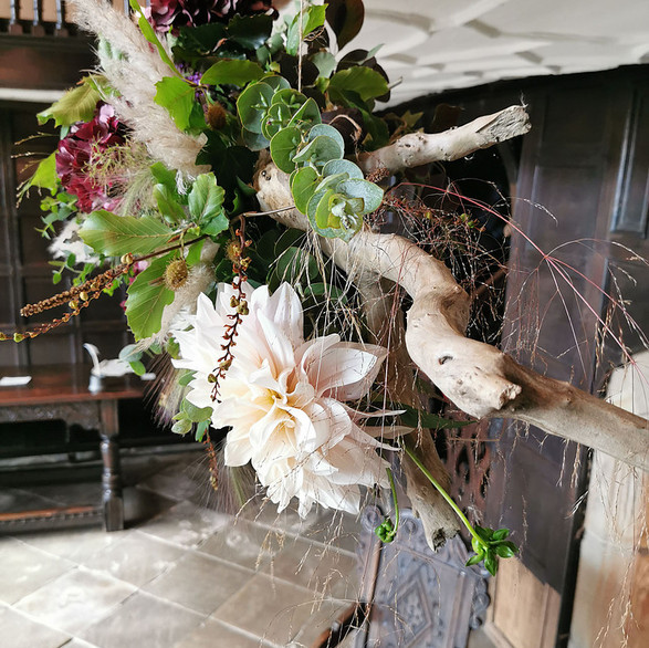 Centre piece at Oakwell Hall Country Park