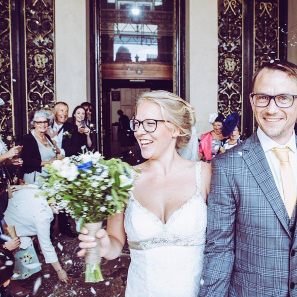 Amandine & Simon's wedding celebration