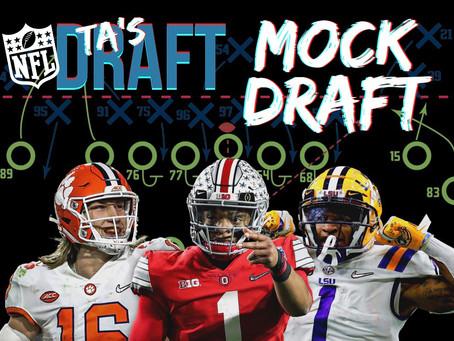 TA's 2021 NFL Mock Draft 3.0