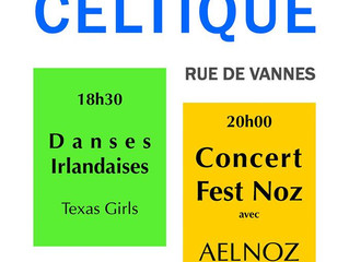 SAINTE-ANNE-D'AURAY à l'heure du Festival Interceltique
