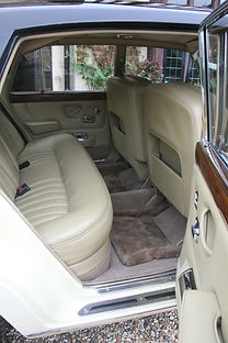 Luxurious leather seats