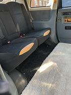 Seats five