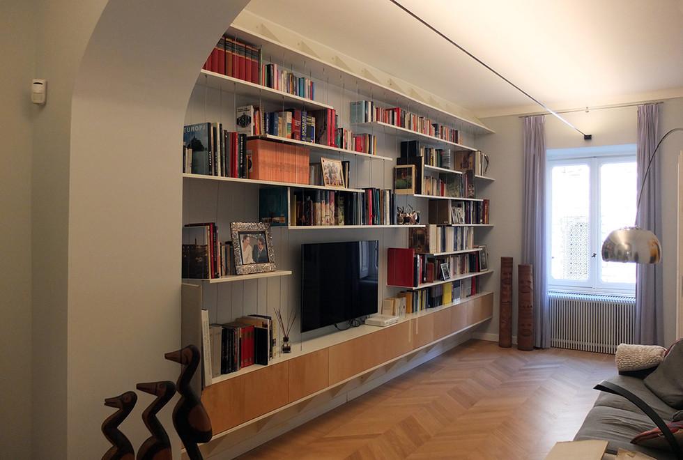 The book shelf