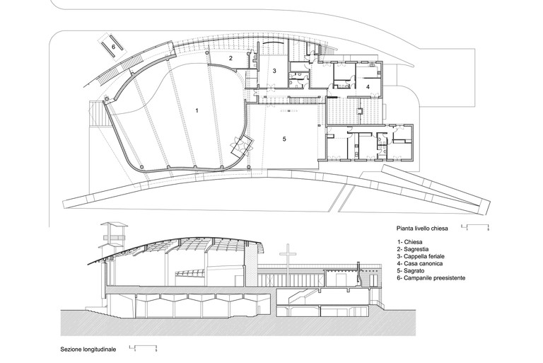 Plan & section