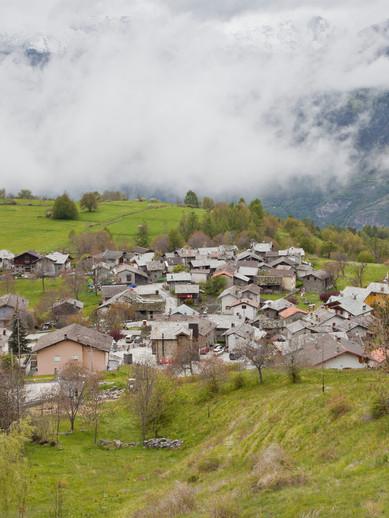 Villaggio di Eresaz Comune di Emarèse Valle d'Aosta