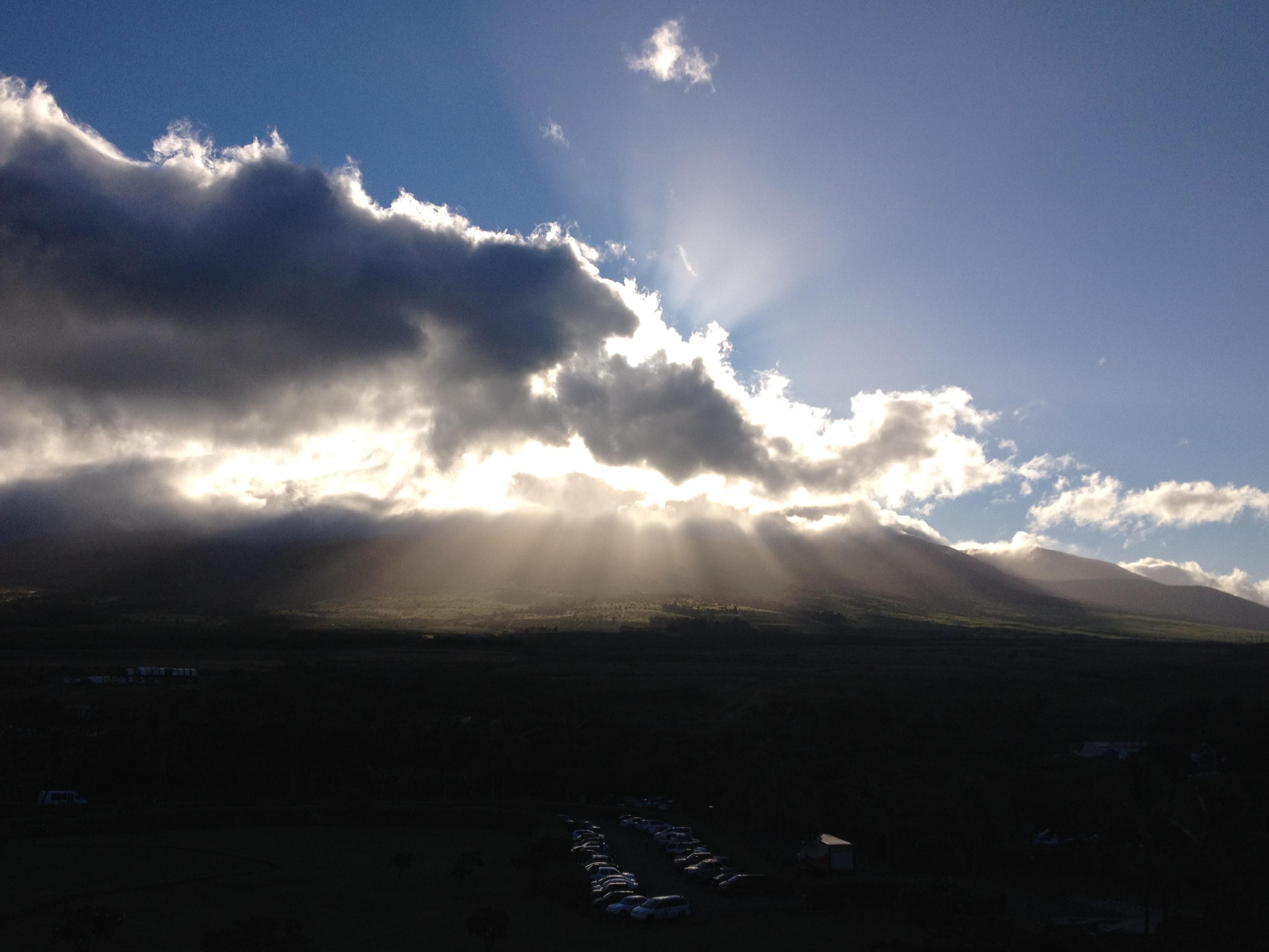 Mountain sunrise Konea 604