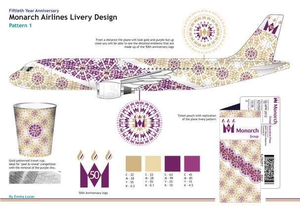 Monarch Airlines 50th Anniversary