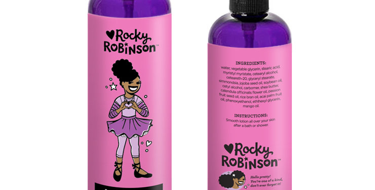 Body Lotion Front and Back View