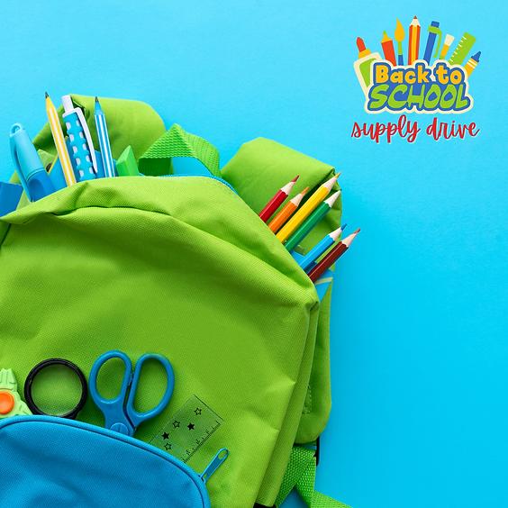 Backpack 4 Kids - School Supply Drive