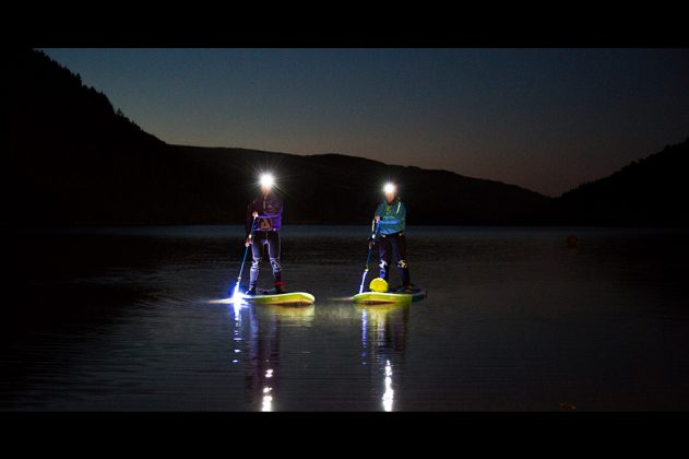 night paddling torch