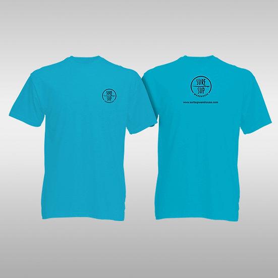 T-Shirts - Surf Sup Warehouse (Aqua Blue)