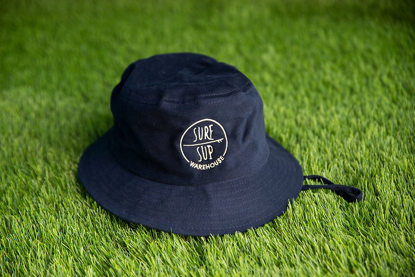 Bucket Hat - Surf Sup Warehouse (Navy Blue)