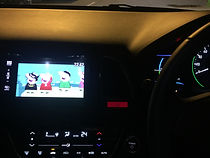 Watch youtube movies in Honda Vezel