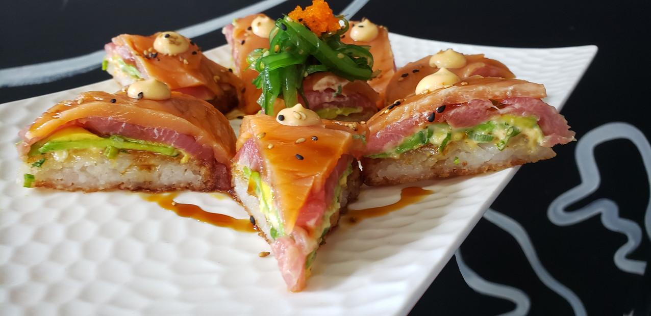 Pizza japonessa | Sushi Pizza