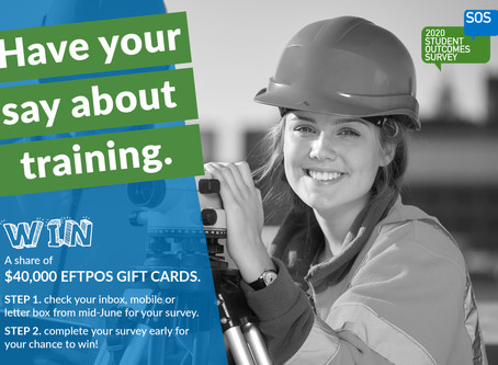 Have your say about training