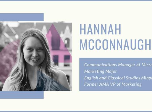 Alum Q&A: Hannah McConnaughey