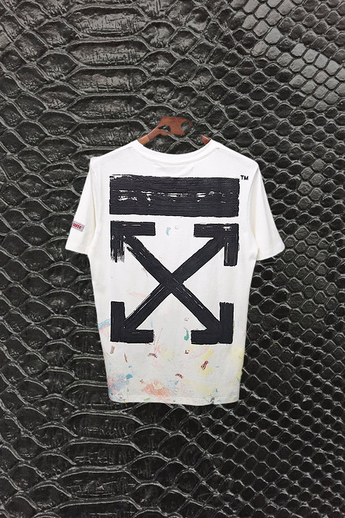 White Off White Seeing Things Solar Shirt