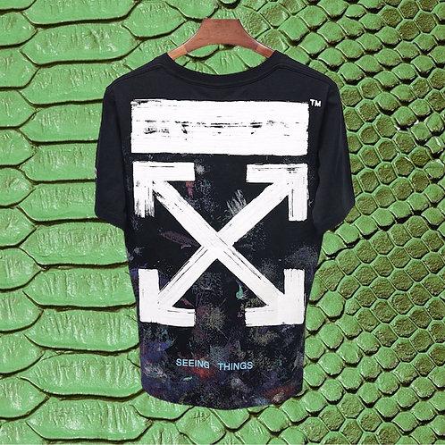 Black OFF WHITE Seeing Things Shirt