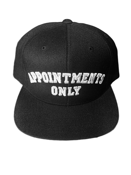 Appointments Only Hat