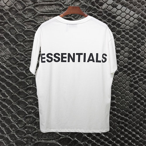 White Fear of God Essentials Shirt