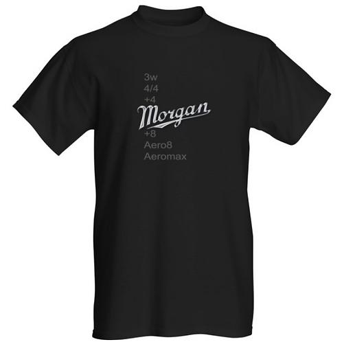 Morgan Script Logo Cotton T shirt - Front