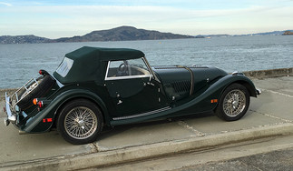 Green 2003 Morgan Plus 8